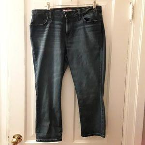 Tommy Hilfiger Medium Wash Crop Jeans
